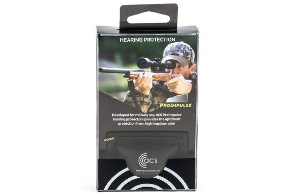 Tapones auditivos para disparar